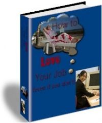 How To Love Your Job e-book 01