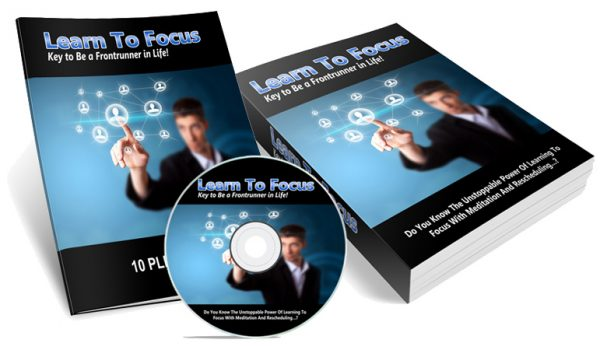 Learn To Focus E-book