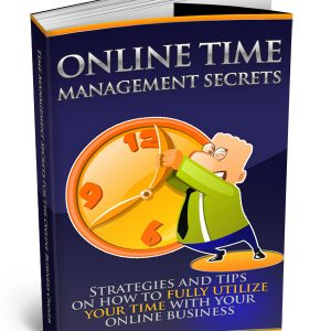 Online Time Management Secrets e-book 01