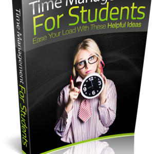Time Management For Students E-book