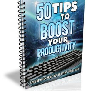 Y-50 Tips to Boost Your Productivity E-book