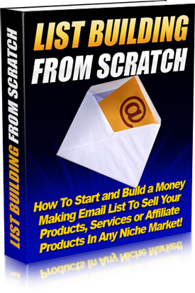List Building From Scratch E-book