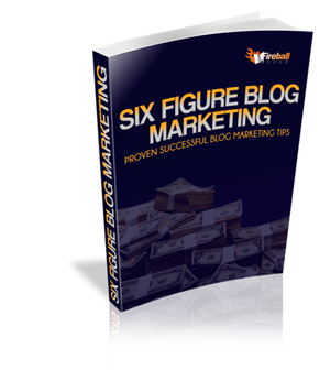 Six Figure Blog Marketing E-book